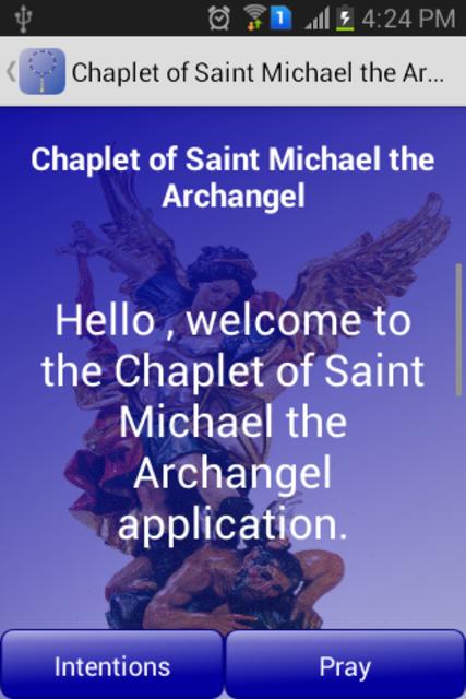 Novena to St Michael Archangel screenshot 2