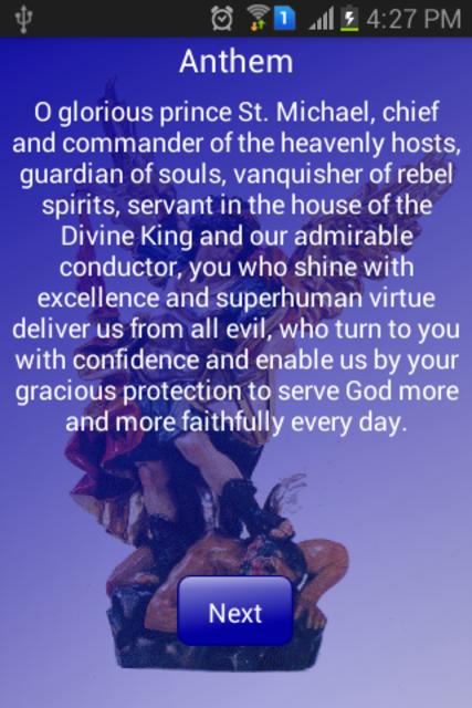 Novena to St Michael Archangel screenshot 7