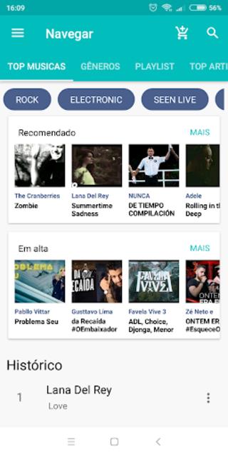 Free Music player - Whatlisten screenshot 2