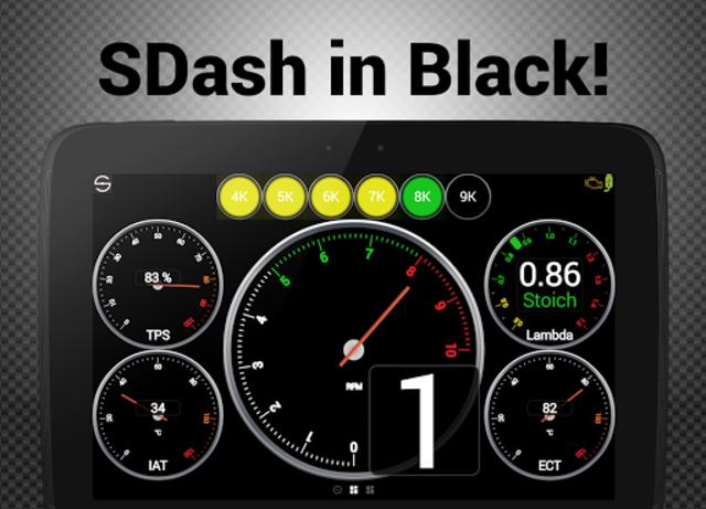 Hondata s300 dash logger-SDash screenshot 11