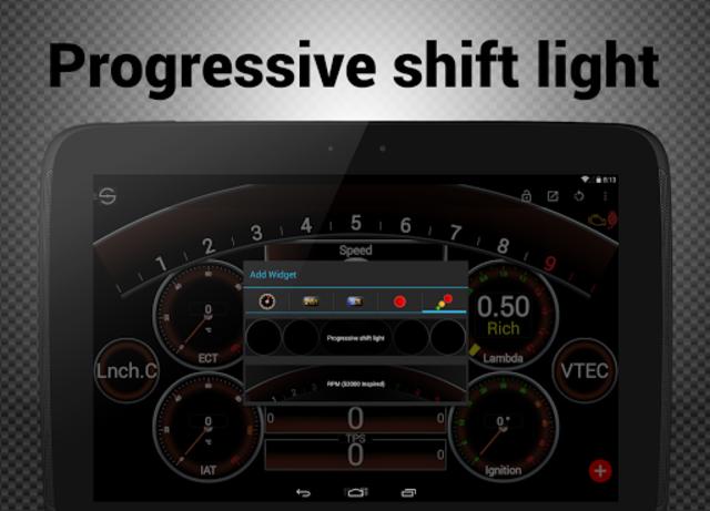 Hondata s300 dash logger-SDash screenshot 12