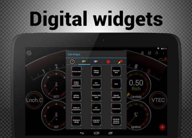 Hondata s300 dash logger-SDash screenshot 14