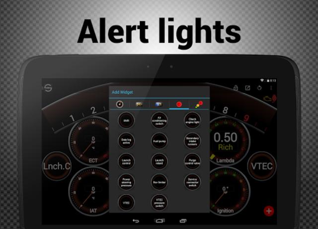 Hondata s300 dash logger-SDash screenshot 16