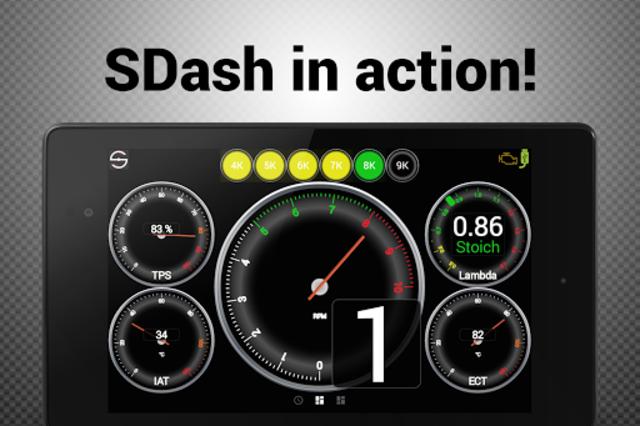 Hondata s300 dash logger-SDash screenshot 18