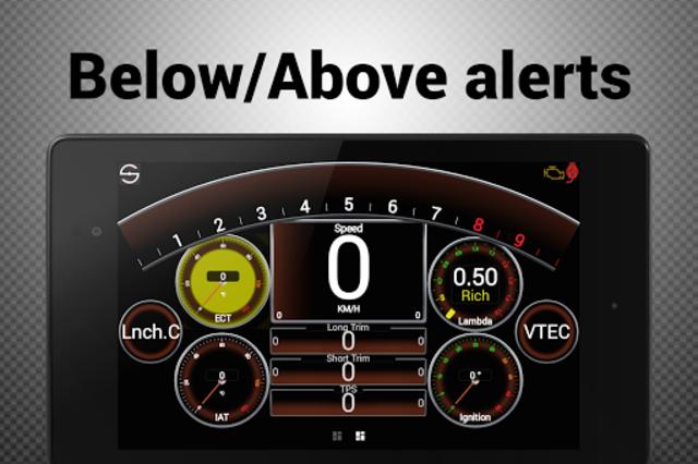 Hondata s300 dash logger-SDash screenshot 20