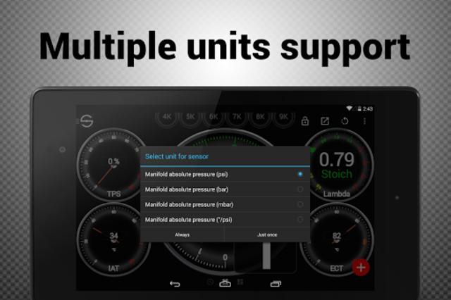 Hondata s300 dash logger-SDash screenshot 23