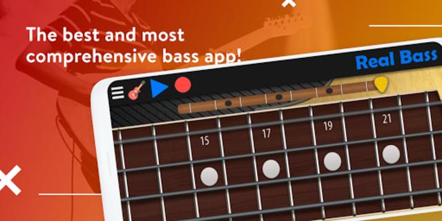 Real Bass - Playing bass made easy screenshot 1