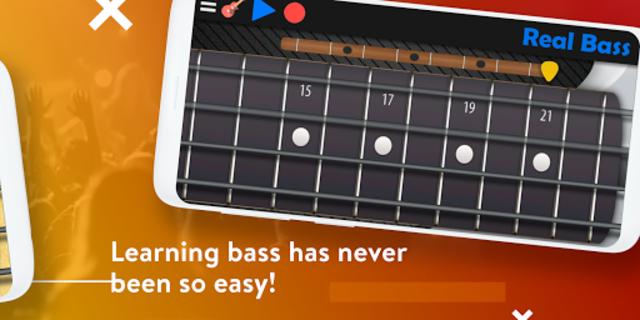 Real Bass - Playing bass made easy screenshot 2