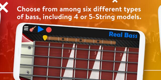 Real Bass - Playing bass made easy screenshot 3