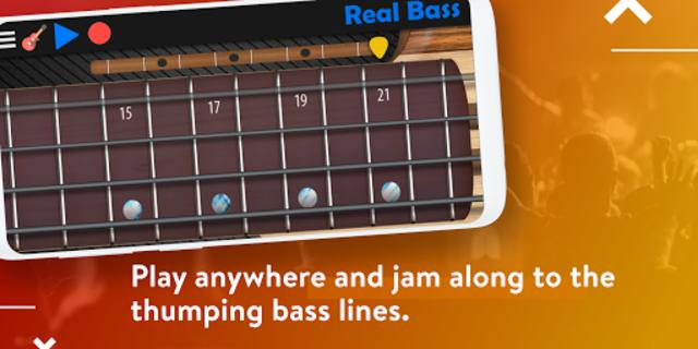 Real Bass - Playing bass made easy screenshot 4