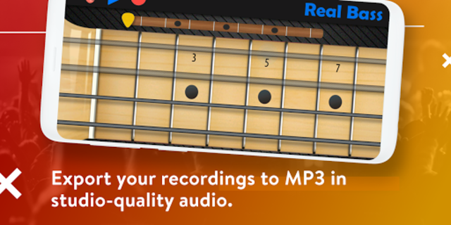 Real Bass - Playing bass made easy screenshot 5