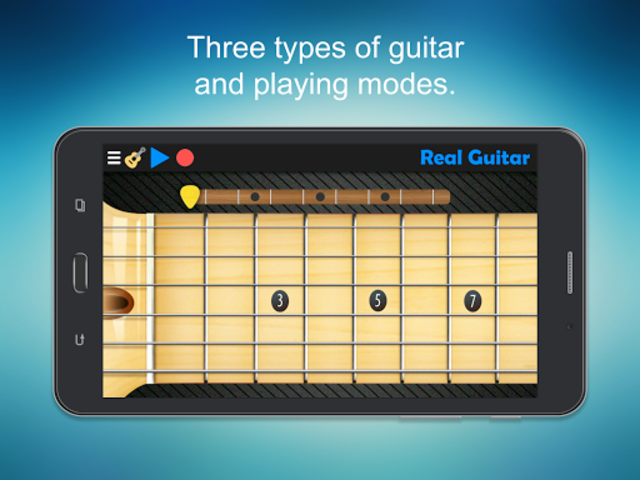 Real Guitar - Guitar Playing Made Easy. screenshot 7