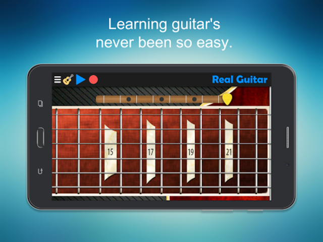 Real Guitar - Guitar Playing Made Easy. screenshot 10