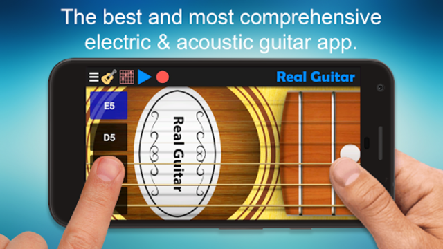 Real Guitar - Guitar Playing Made Easy. screenshot 1