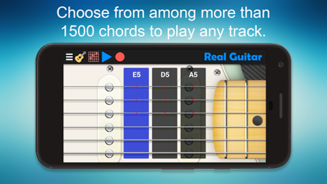 Real Guitar - Guitar Playing Made Easy. screenshot 3
