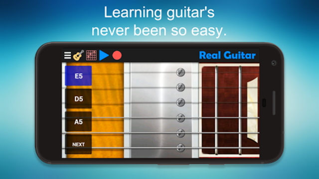 Real Guitar - Guitar Playing Made Easy. screenshot 5