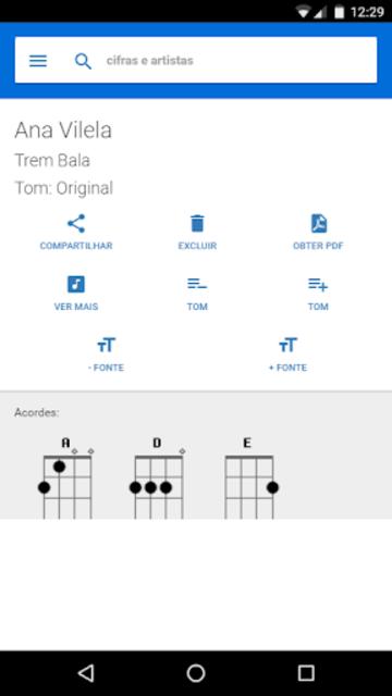 Uke Cifras para Ukulele screenshot 2