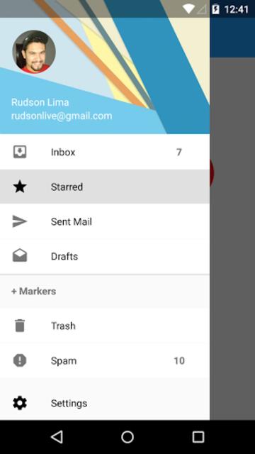 Navigation Drawer - Live-O screenshot 1