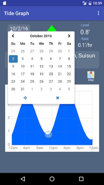 Tide Graph screenshot 5