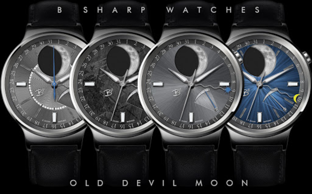 Old Devil Moon - watch face for smart watches screenshot 1
