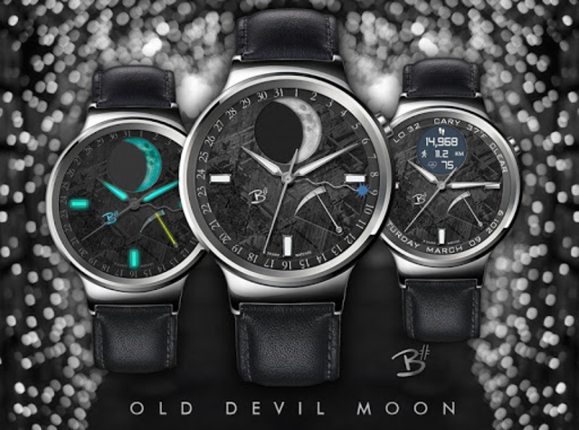 Old Devil Moon - watch face for smart watches screenshot 4