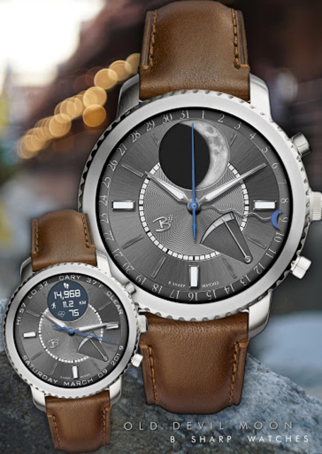 Old Devil Moon - watch face for smart watches screenshot 8