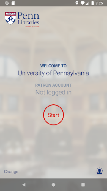 UPenn Self Checkout screenshot 1