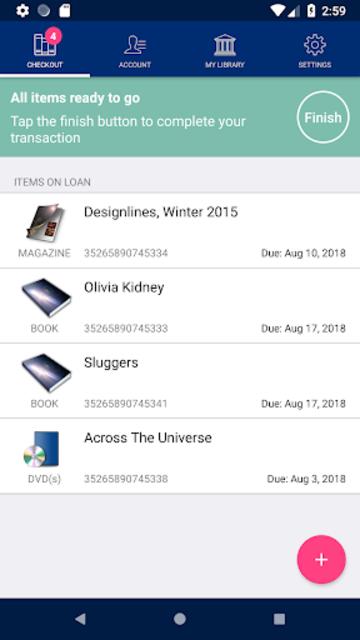 UPenn Self Checkout screenshot 2