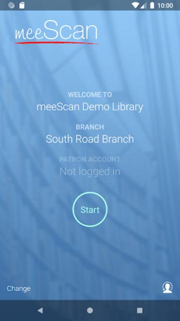meeScan screenshot 1