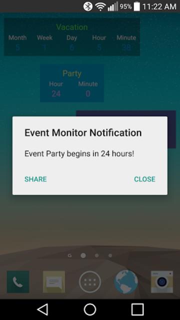 Event Monitor Widget Pro screenshot 6