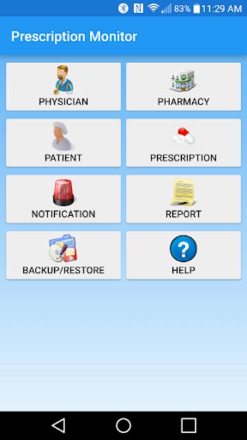 Prescription Monitor screenshot 1