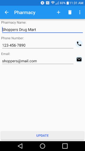 Prescription Monitor screenshot 2