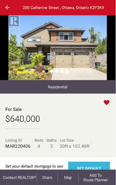 REALTOR.ca Real Estate & Homes screenshot 4