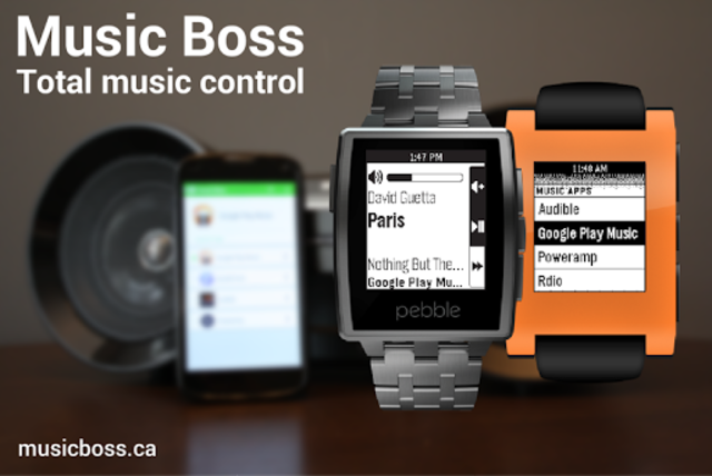 Music Boss for Pebble - Control Your Music screenshot 6