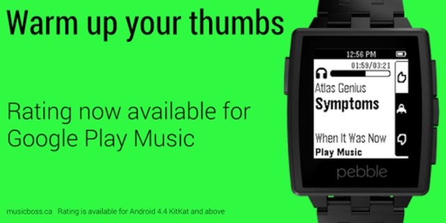 Music Boss for Pebble - Control Your Music screenshot 7