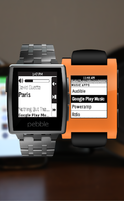 Music Boss for Pebble - Control Your Music screenshot 1