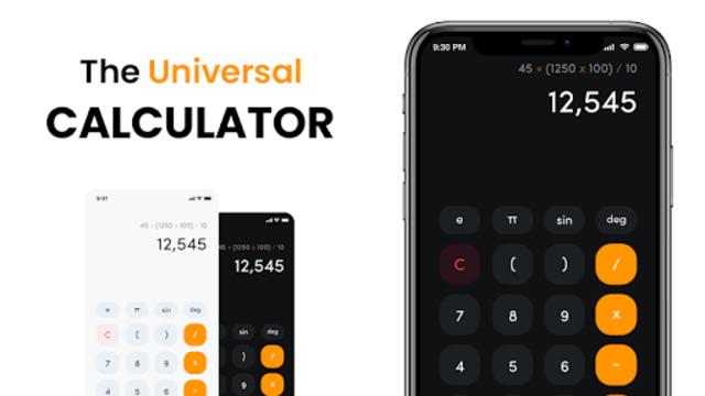 Scientific Calculator, Scientific calc, Calculator screenshot 1