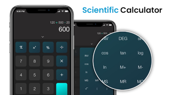 Scientific Calculator, Scientific calc, Calculator screenshot 2