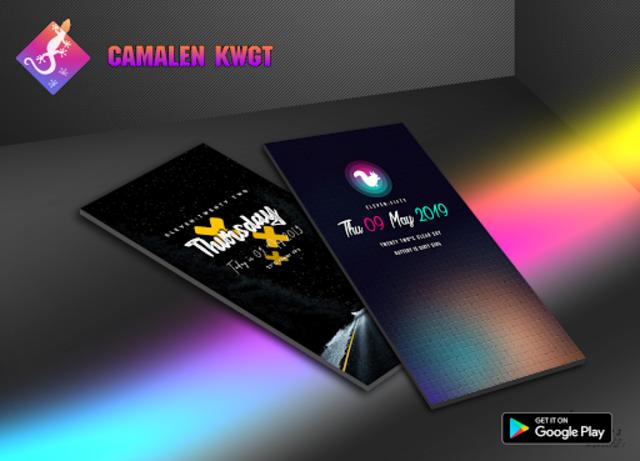 Camaleón KWGT screenshot 3
