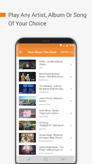 Free Music: Unlimited for YouTube Stream Player screenshot 4