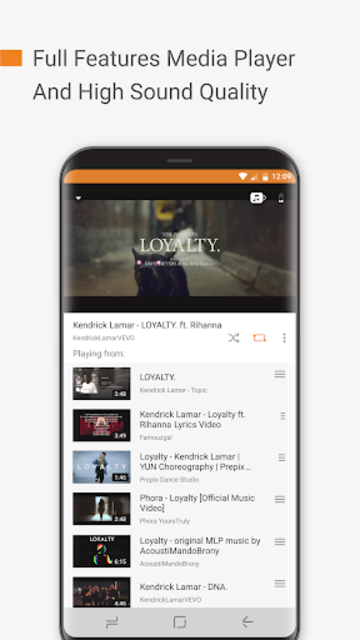 Free Music: Unlimited for YouTube Stream Player screenshot 5