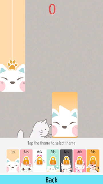 Pink Cat Piano - Magic Girly Piano Tiles Cat screenshot 4