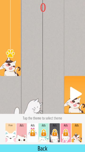 Pink Cat Piano - Magic Girly Piano Tiles Cat screenshot 6