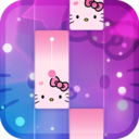 Icon for Magic Cat Piano Tiles - Crazy Tiles Pink Girly