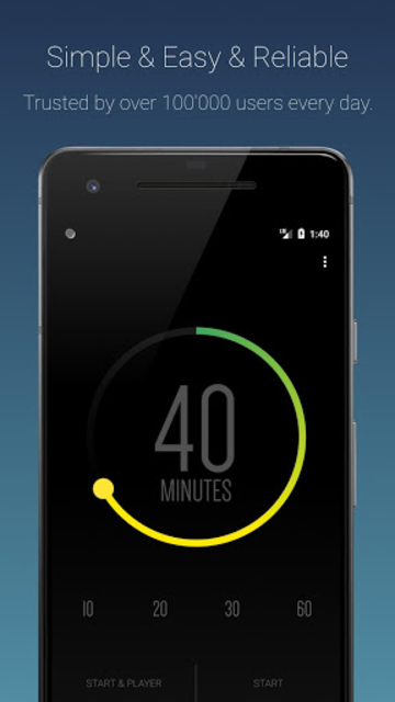 Sleep Timer (Turn music off) screenshot 1