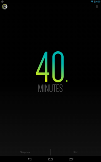 Sleep Timer (Turn music off) screenshot 11