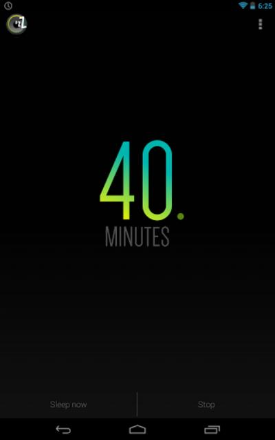 Sleep Timer (Turn music off) screenshot 15