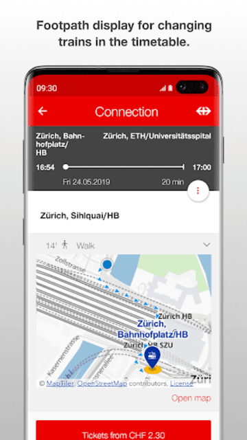 SBB Mobile screenshot 3