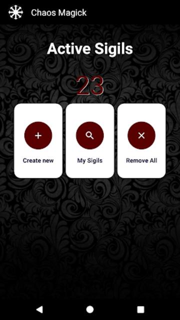 ⚫Chaos Magick screenshot 1