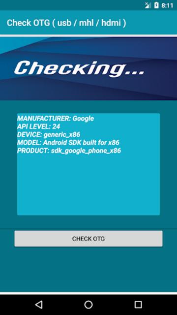 Check OTG ( usb / mhl / hdmi ) screenshot 4